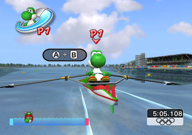 Mario & Sonic at the Olympic Games - Screenshot 4