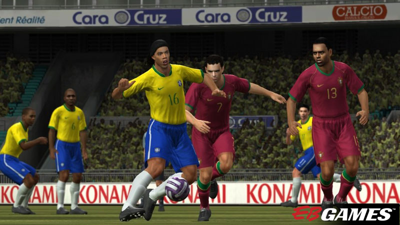 Pro Evolution Soccer 2008 - Screenshot 1