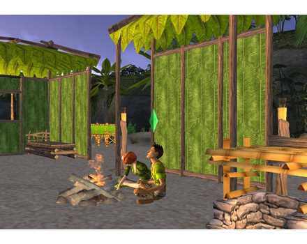 The Sims 2: Castaway - Screenshot 2