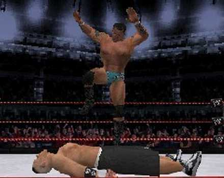 WWE Smackdown vs Raw 2008 - Screenshot 2