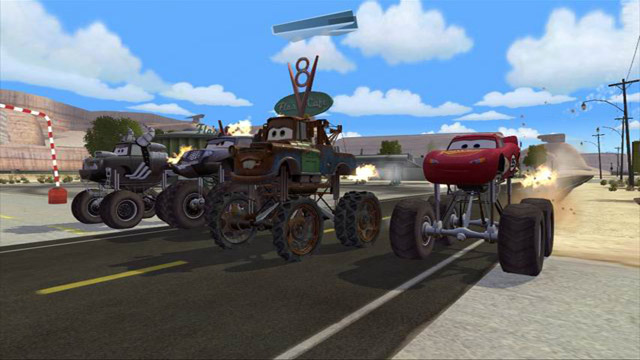 Cars Mater-National - Screenshot 2