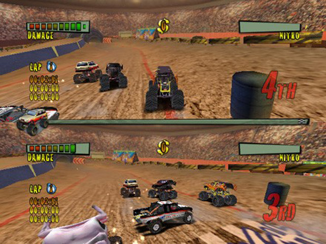 Monster Trux Arenas - Screenshot 7