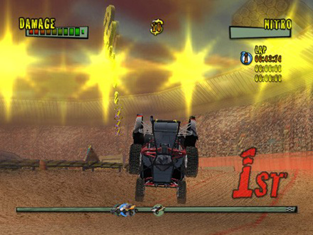 Monster Trux Arenas - Screenshot 1