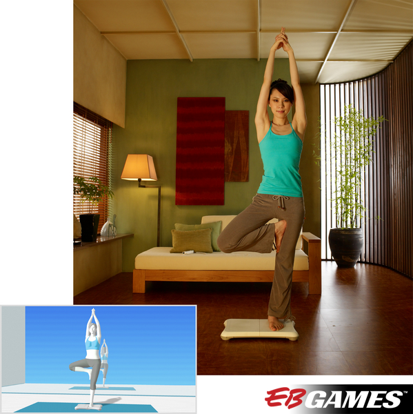 Wii Fit + Board - Screenshot 2