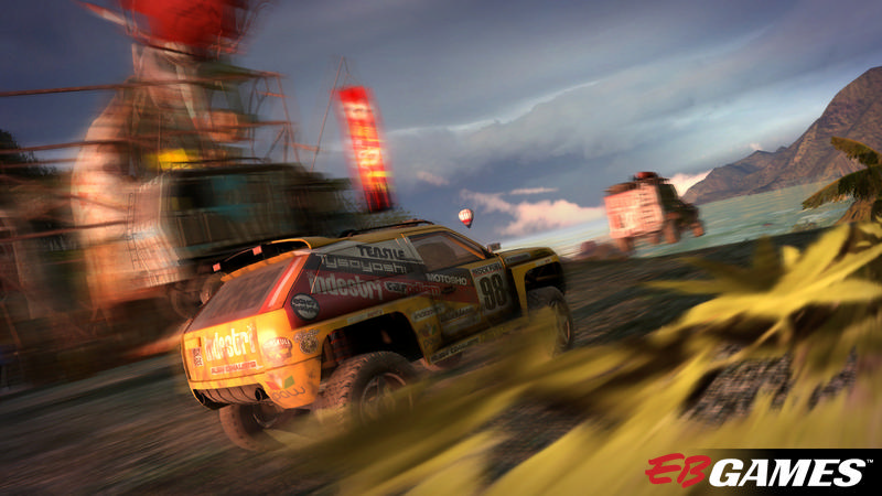 Motorstorm Pacific Rift - Screenshot 1