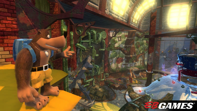 Banjo-Kazooie: Nuts & Bolts - Screenshot 2