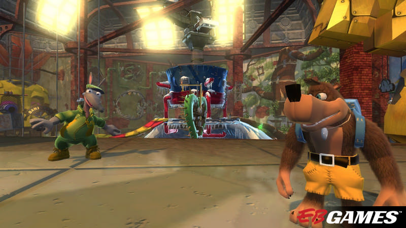 Banjo-Kazooie: Nuts & Bolts - Screenshot 3