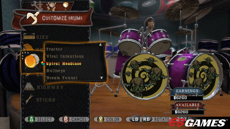 Guitar Hero World Tour - Screenshot 5