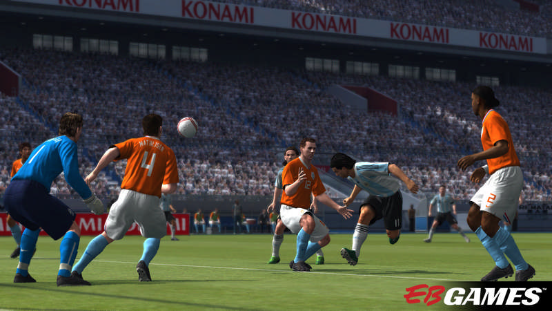 Pro Evolution Soccer 2009 - Screenshot 4