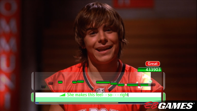 Disney Sing It: High School Musical 3: Senior Year - Screenshot 3