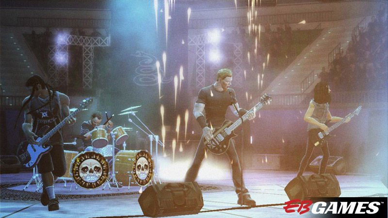 Guitar Hero: Metallica Standalone - Screenshot 2