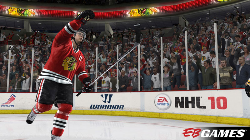 NHL 10 - Screenshot 2