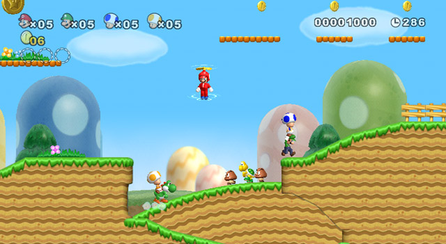 New Super Mario Bros. - Screenshot 1