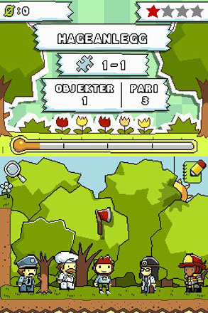 Scribblenauts Collection - Screenshot 1