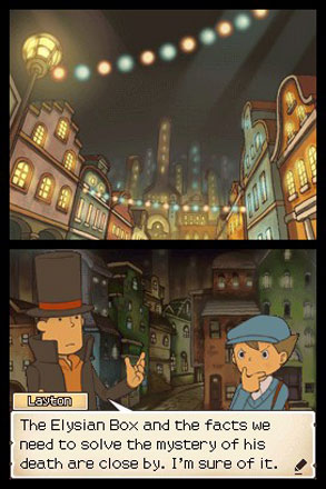 Professor Layton and Pandora's Box - Screenshot 2