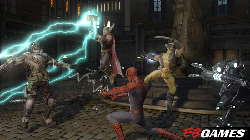 Marvel Ultimate Alliance 2 - Screenshot 1