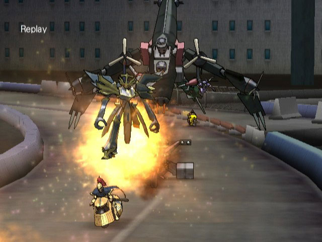 Yu-Gi-Oh! 5D's Wheelie Breakers - Screenshot 6