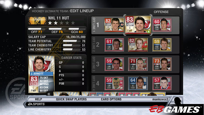 NHL 11 - Screenshot 2