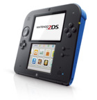 Nintendo 2DS Blue + Mario Kart 7 - Screenshot 3