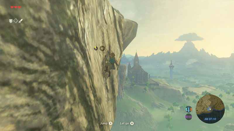 The Legend of Zelda: Breath of the Wild - Screenshot 1