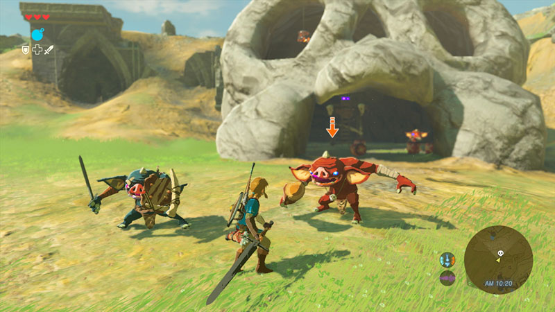 The Legend of Zelda: Breath of the Wild - Screenshot 2