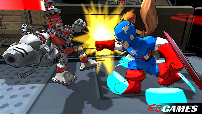 Marvel Super Hero Squad: Comic Combat - Screenshot 1