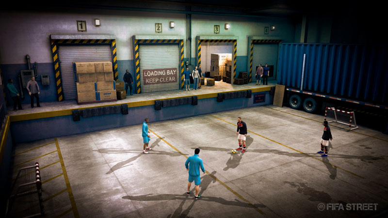 FIFA Street - Screenshot 2