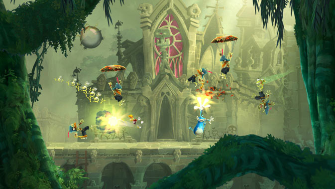 Rayman Legends - Screenshot 1