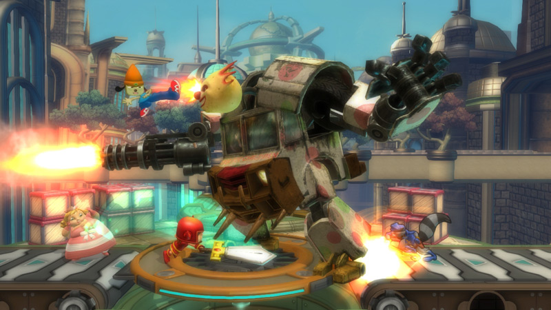 PlayStation All-Stars: Battle Royale - Screenshot 1