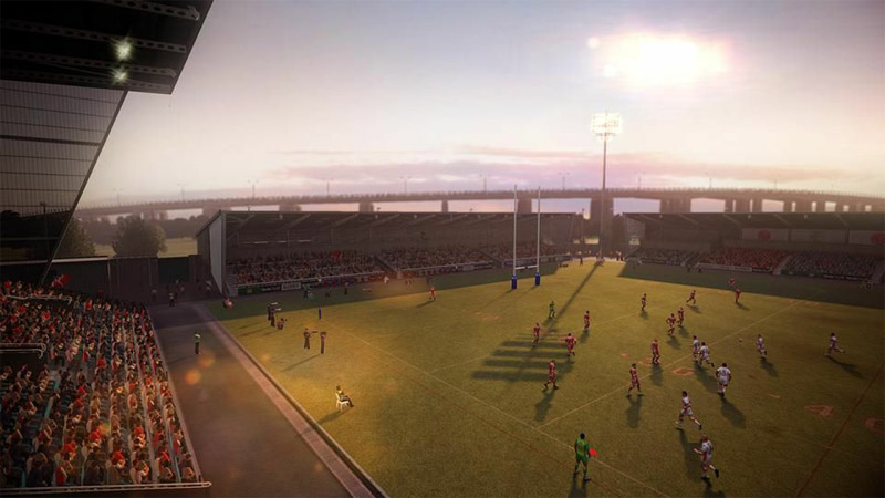 Rugby League Live 2 - World Cup Edition - Screenshot 1