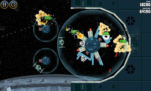 Angry Birds Star Wars - Screenshot 4