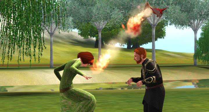 The Sims 3: Dragon Valley - Screenshot 1