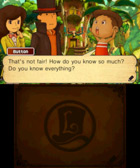 Professor Layton and the Azran Legacy - Screenshot 1