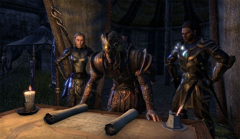 The Elder Scrolls Online -Tamriel Unlimited - Screenshot 1