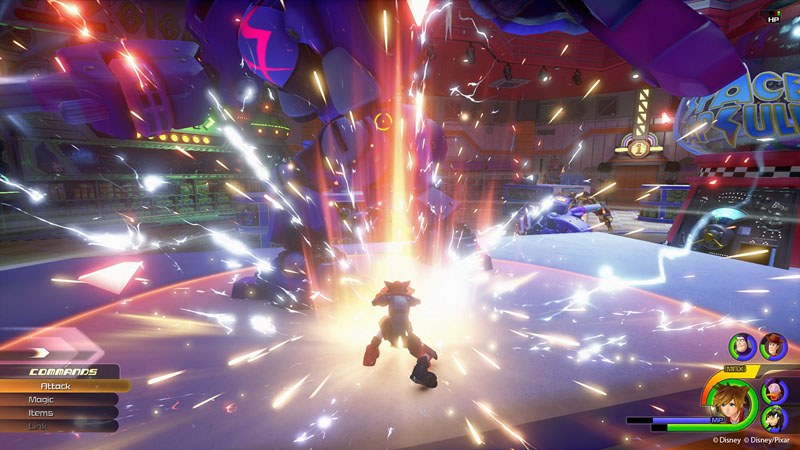 Kingdom Hearts III - Screenshot 4