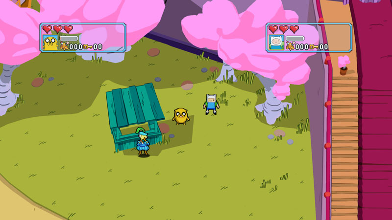 Adventure Time: Explore the Dungeon Because I DON'T KNOW! - Screenshot 2