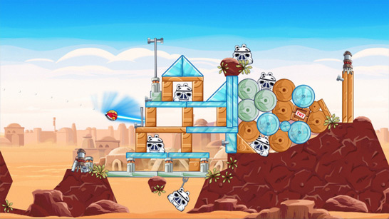 Angry Birds Star Wars - Screenshot 2