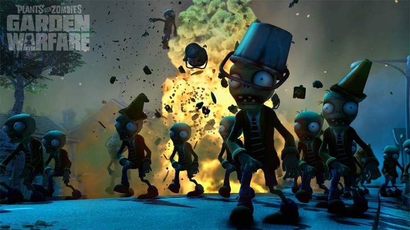 Plants vs Zombies Garden Warfare - Screenshot 2