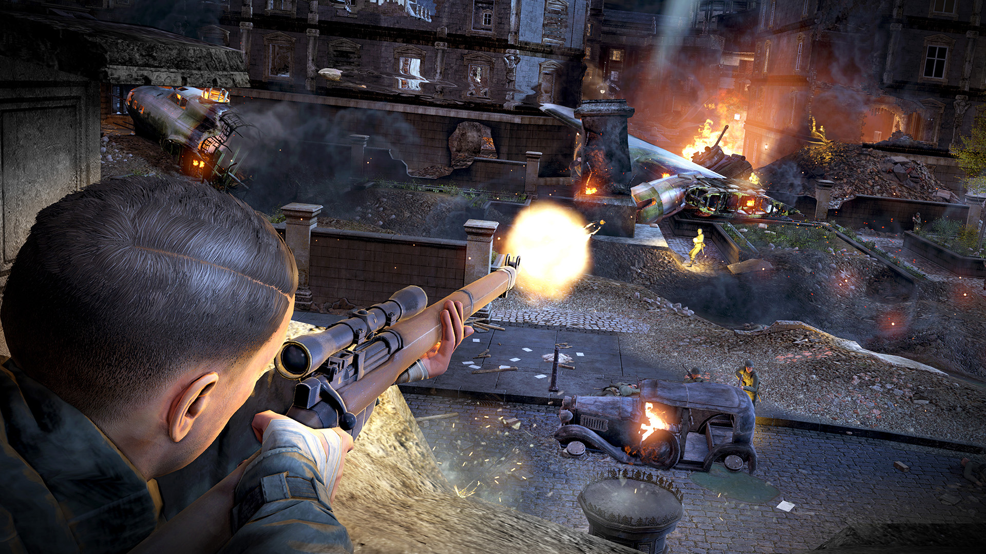 Sniper Elite V2 Remastered - Screenshot 1
