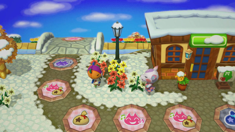 Animal Crossing: Amiibo Festival - Screenshot 1