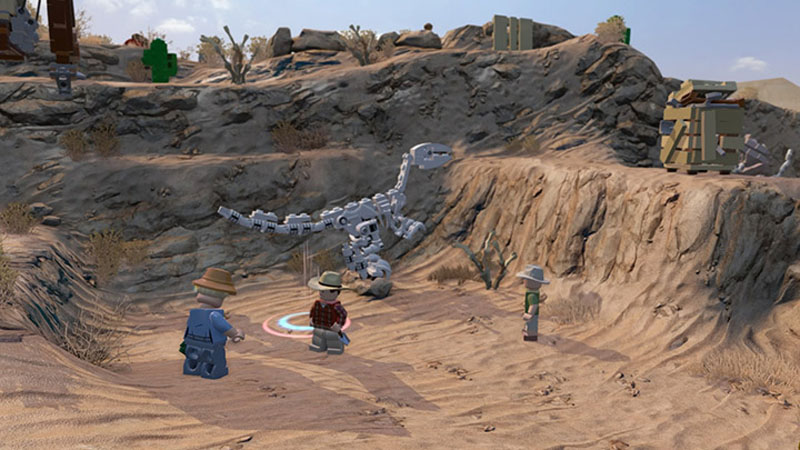 LEGO Jurassic World - Screenshot 3