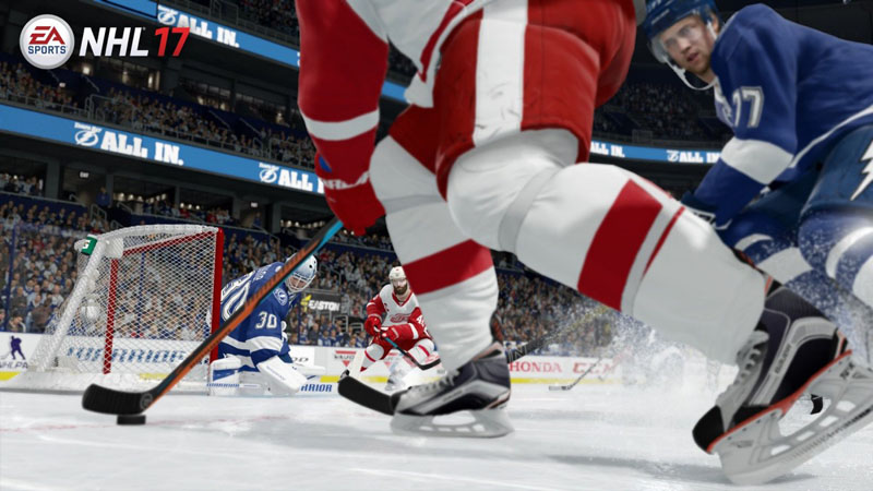 NHL 17 - Screenshot 9