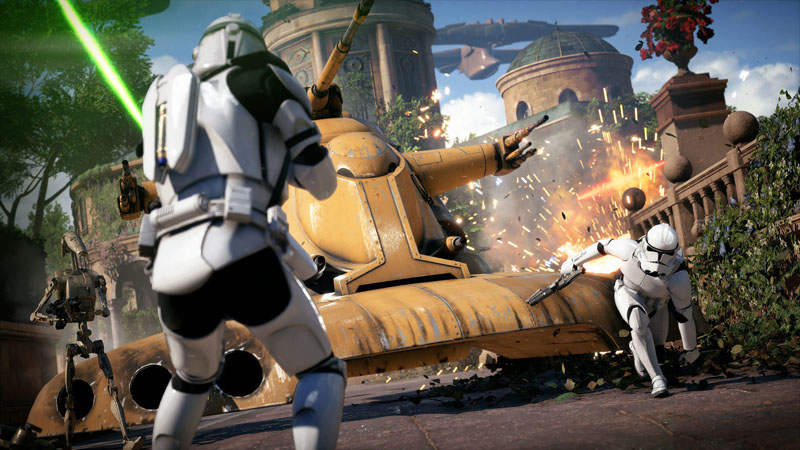 Star Wars Battlefront 2 - Screenshot 4