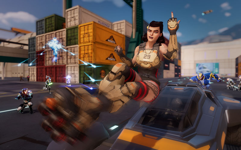 Agents of Mayhem Retail Edition - Screenshot 1