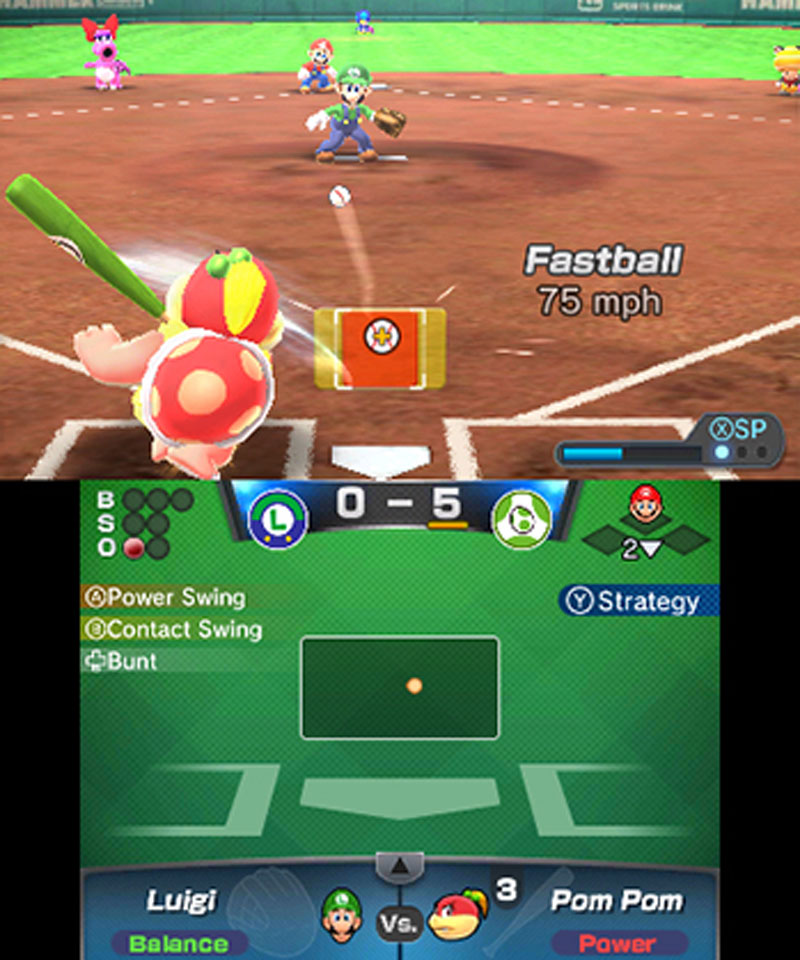 Mario Sports Superstars - Screenshot 10