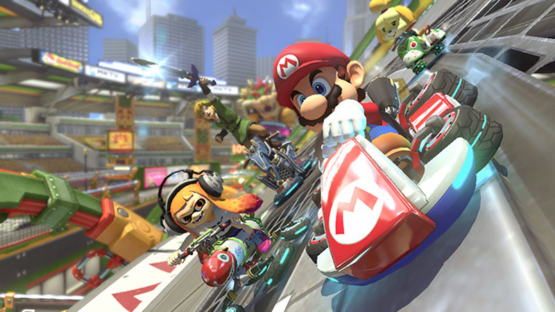 Mario Kart 8 Deluxe - Screenshot 1