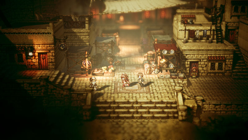 Octopath Traveler - Screenshot 1