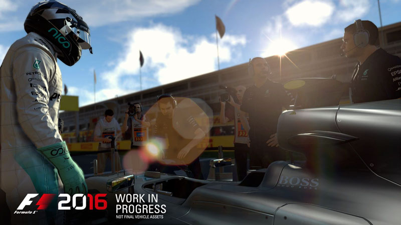 F1 2016 - Screenshot 1