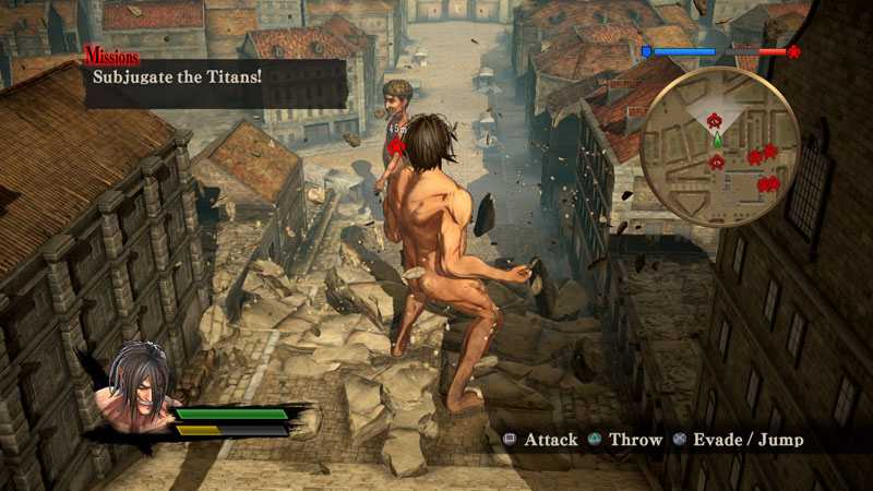 Attack on Titan: Wings of Freedom - Screenshot 4