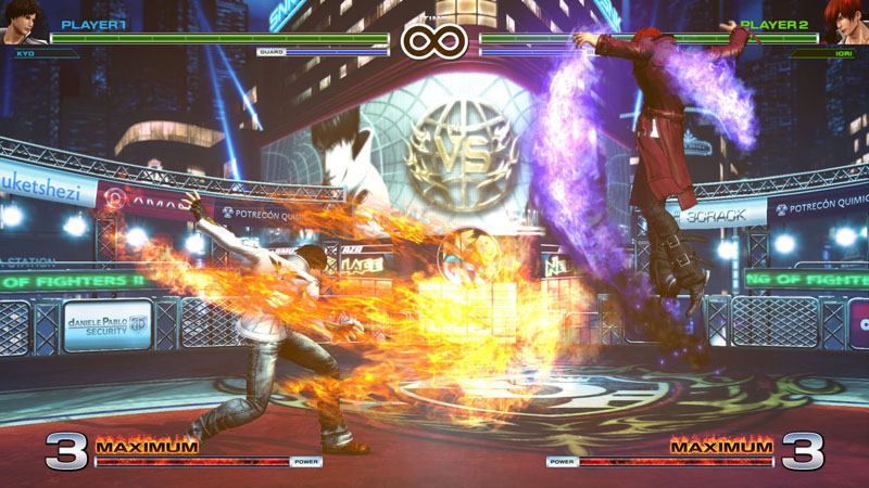 King of Fighters XIV - Screenshot 2